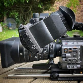 Adaptation de viseur pour caméra Sony FX6
